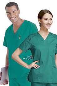 copertina di TUTA   Divisa ( completo ospedaliero   sala operatoria )  casacca manica corta e ... a2500c090eb6