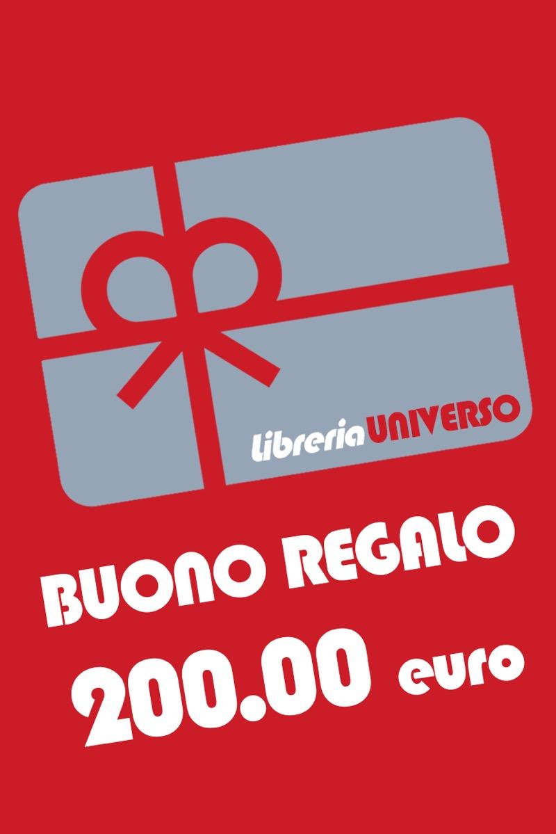 Buono regalo 200 libreria universo for Regalo libri gratis